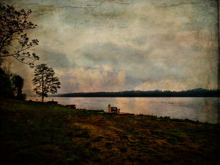 Just Sitting - Pine Singer Photographic Art
