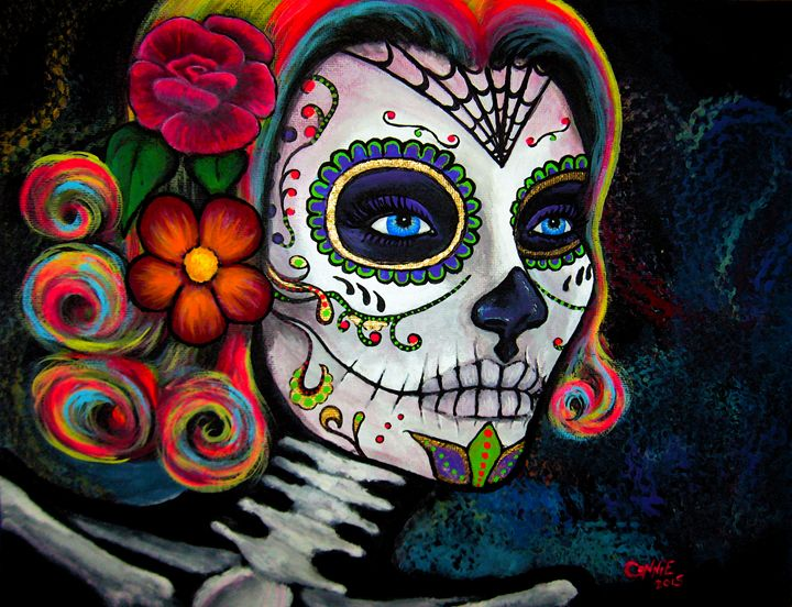 Sugar Skull Candy - CLE Art