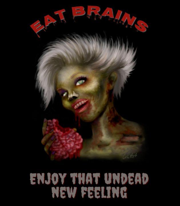 Eat Brains - CLE Art