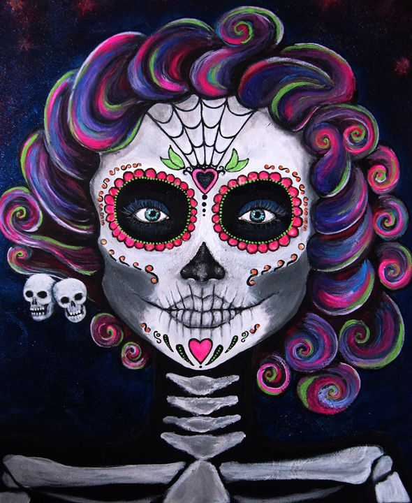 Sugar Skull Candy 2 - CLE Art