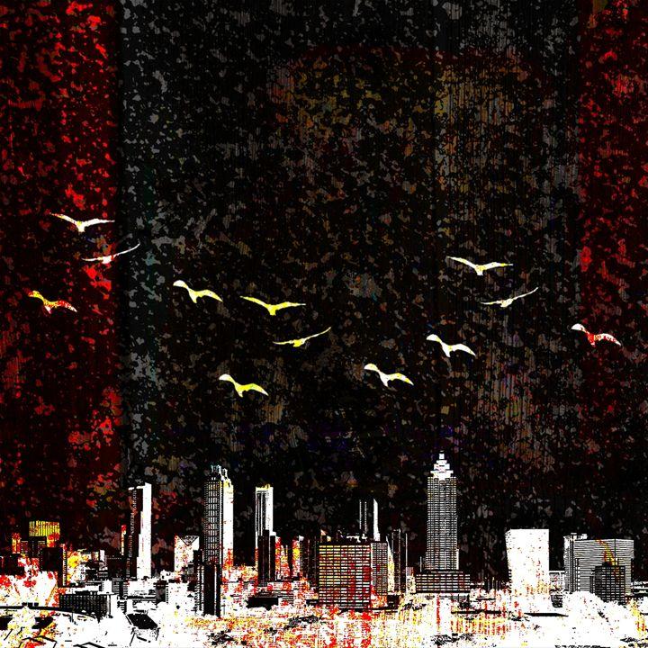 SALE - circuling destruction - eli's art