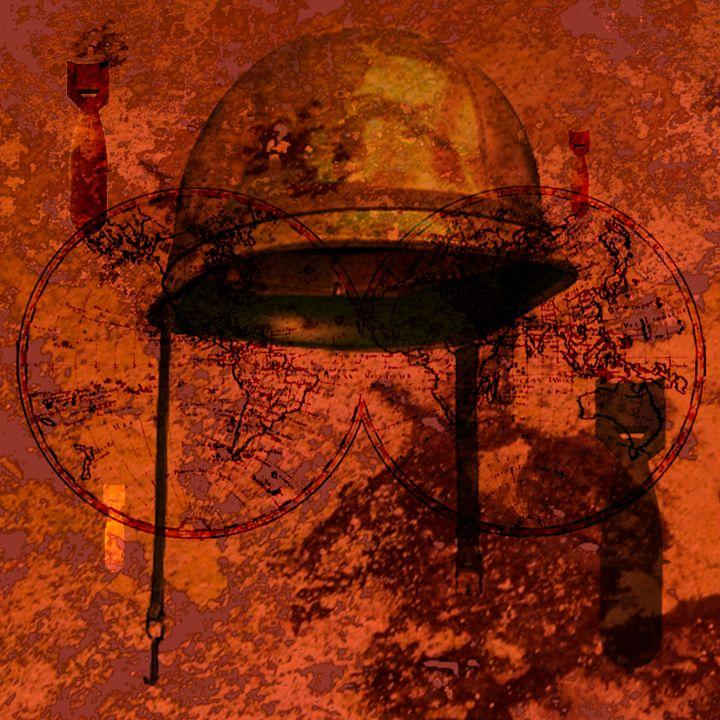 SALE - world under attack - eli's art