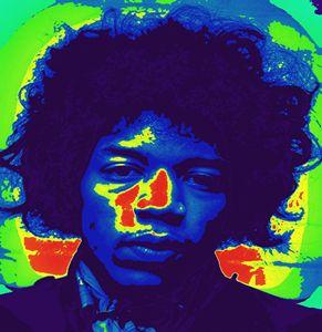 Jimi Hendrix art by paradiseblueart
