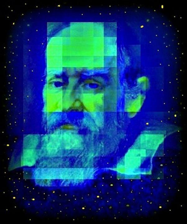 Galileo Galilei/paradiseblueart - paradiseblueart