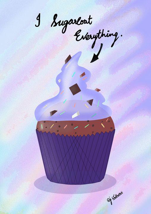 Purple Cupcake - An Artistical Journey