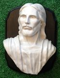 Cultured Marble Wall bust of Jesus