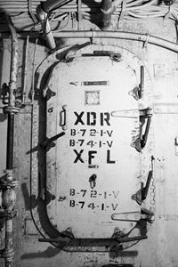 Battleship USS Texas Door II