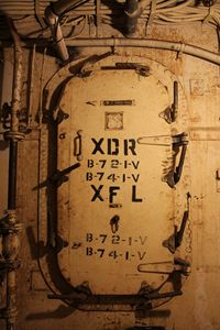 Battleship USS Texas Door I