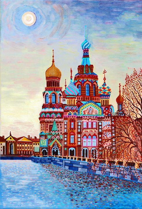 """Church of the Savior on Blood"" - Vladimir Kazakov"