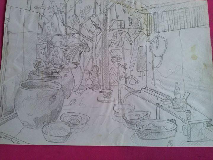 Old house - Nguyenthaikhangart
