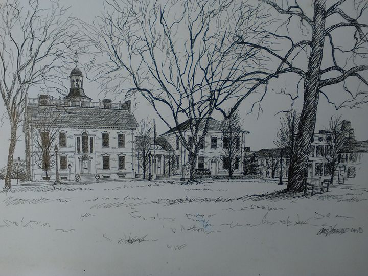 1700 courthouse in Dover Delaware - Hoagland Studio One