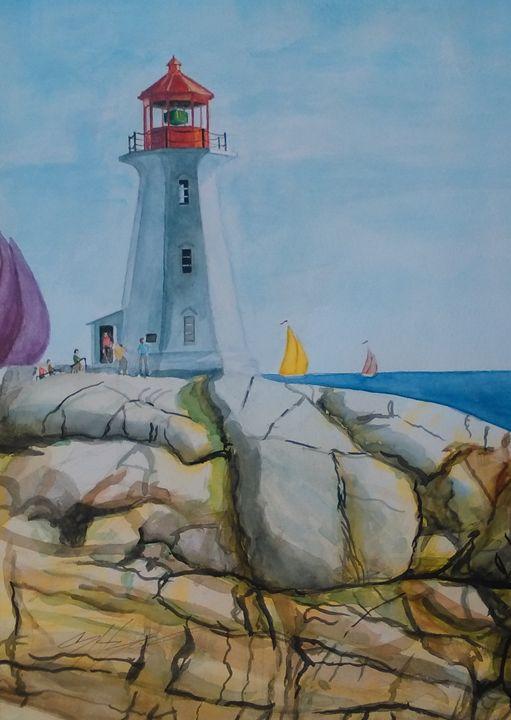 A Nova Scotia lighthouse - Hoagland Studio One