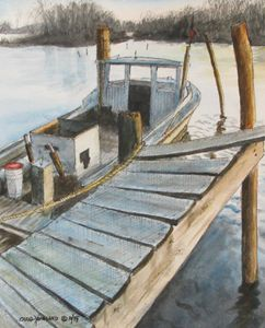 Old Fisherman's Dock - Hoagland Studio One