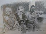 pencil sketch original