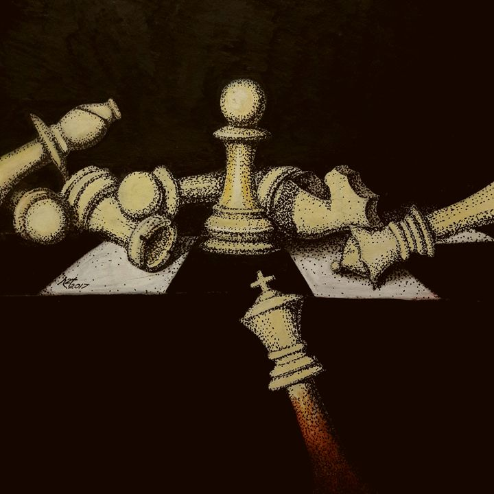 The chess - h2t Art