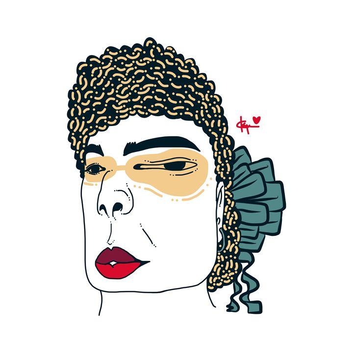 Mi Gafas Del Sol Amarillo - Kyrima - Artist Gallery