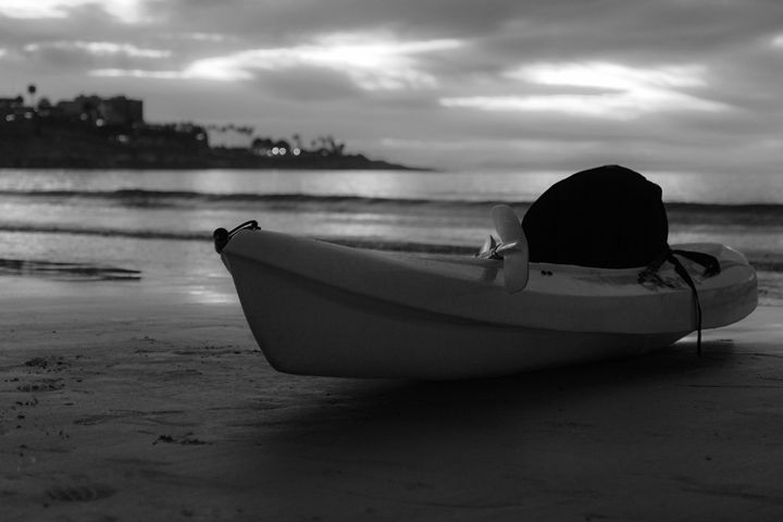 La Jolla Shores Kayak - Zenbezier