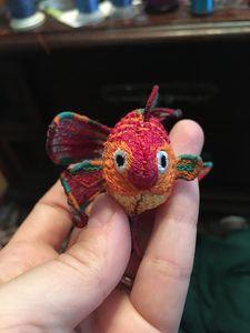 Goldfish machine embroidery file