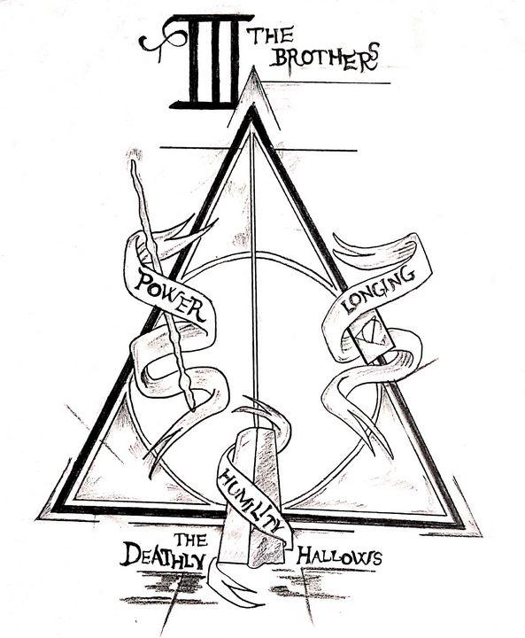 Deathly Hallows - The Sketcher's Hood