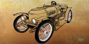 Stanley Steamer Roadster