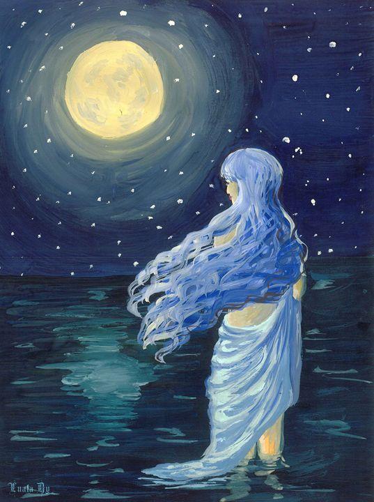 Full moon - Luala Dy