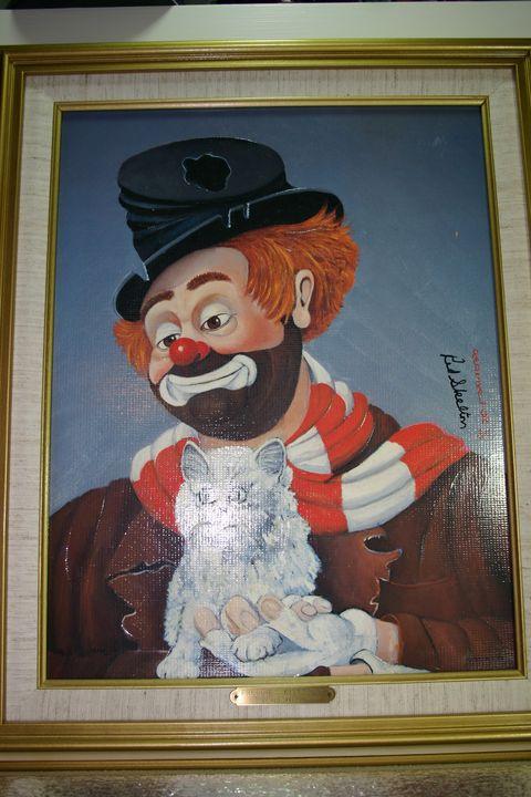 Freddie's Kitty Cat 1926/2000 - Red Skelton Artwork