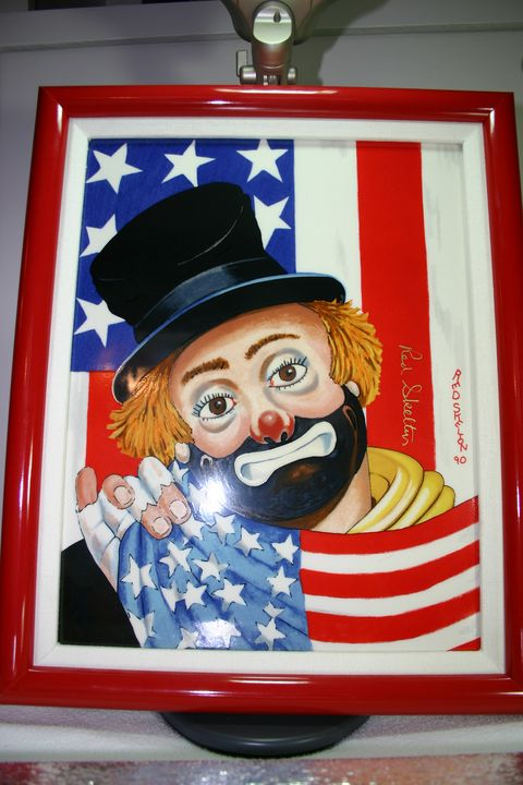 The All American - Red Skelton Artwork