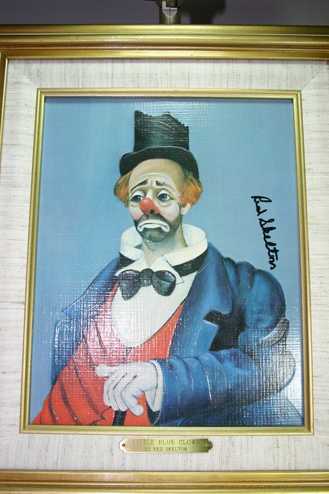 Little Blue Clown - Red Skelton Artwork