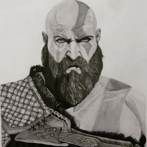 Kratos-- The God of War