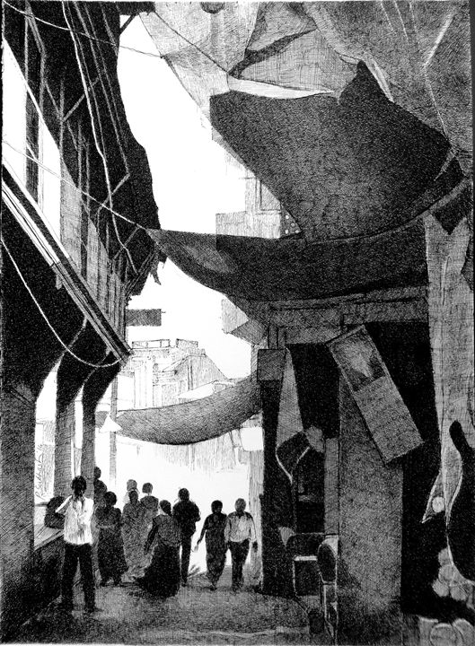 Dakor Street -1 - Shreeart Gallery