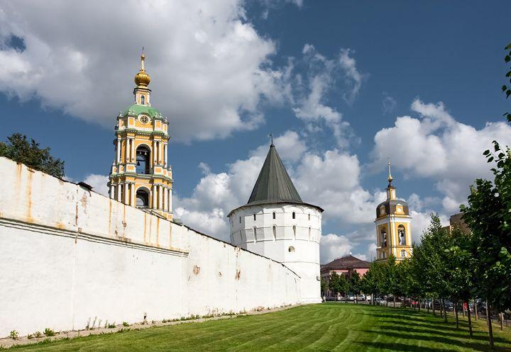 Domes of the Novospassky monastery. - Lery Solo