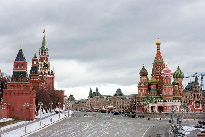 Spasskaya tower of the Kremlin. - Lery Solo