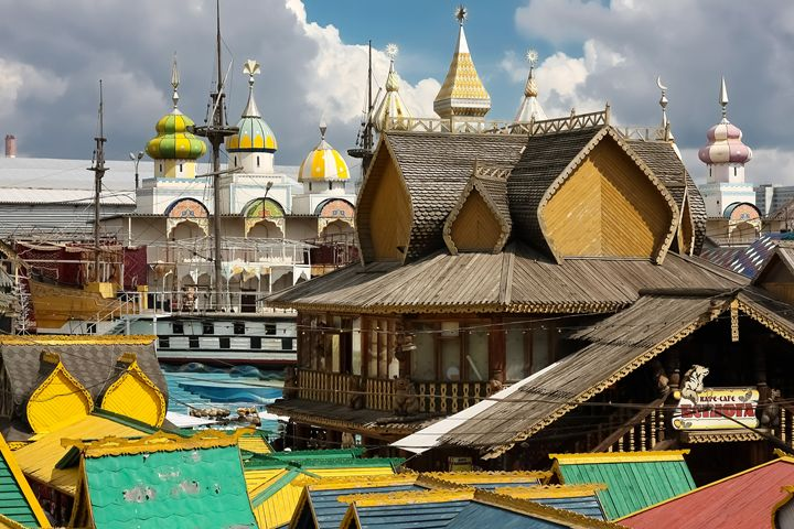 Wooden architecture of Russia. - Lery Solo