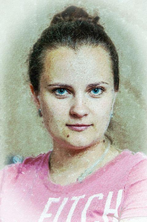 Portrait of a girl. - Lery Solo