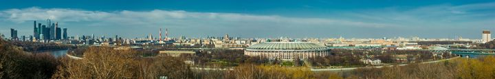 Panorama Of Moscow - Lery Solo