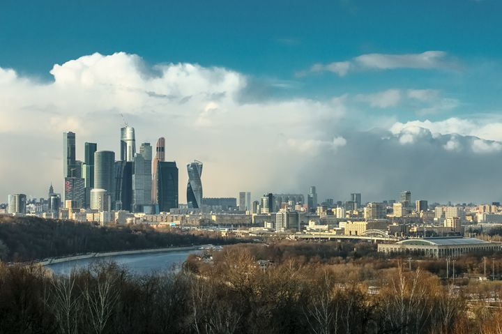 Snow storm over Moscow - Lery Solo