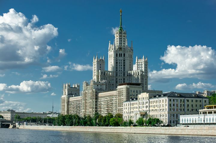 Moscow. Stalinist skyscraper. - Lery Solo