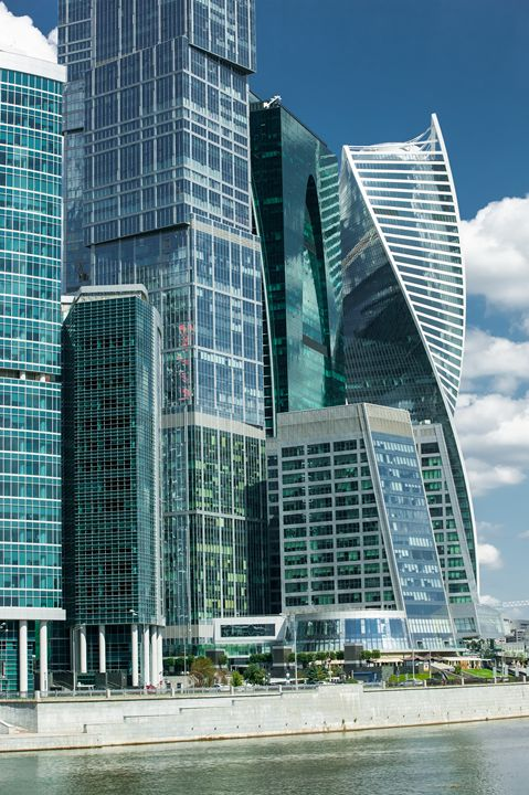 "Business center ""Moscow-city"". - Lery Solo"