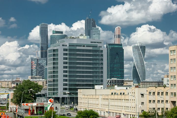 """Business center """"Moscow-city"""". - Lery Solo"""