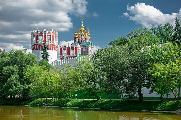 Novodevichy convent. - Lery Solo