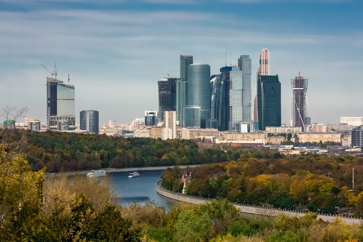 Business center Moscow-city - Lery Solo