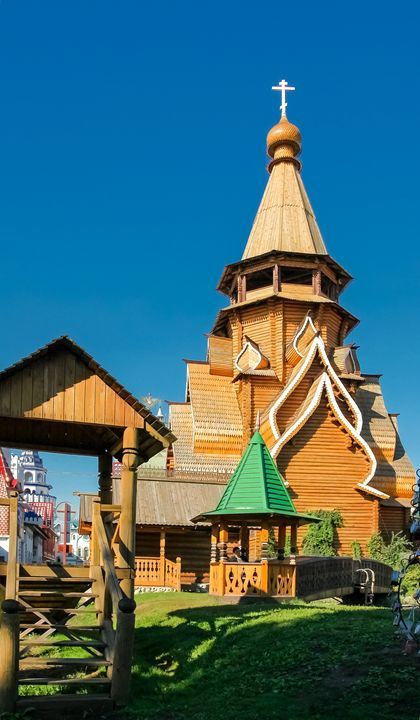 The wooden Church. - Lery Solo