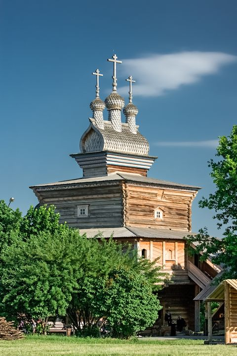 The old wooden Church. - Lery Solo