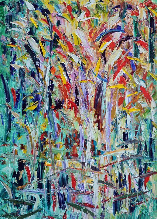 Cespuglio riflesso - ARTE  -  Antonino Puliafico  -