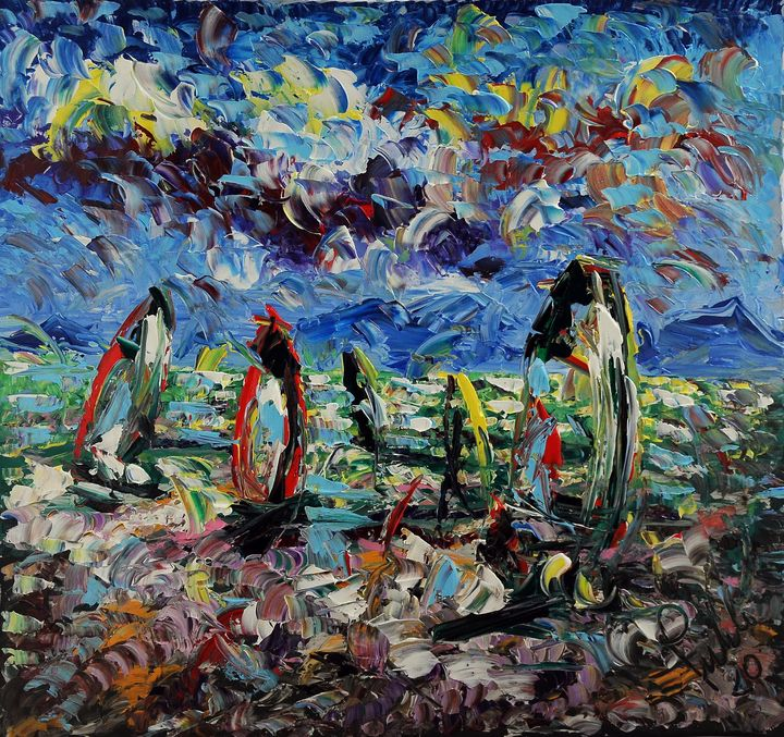 windsurf - ARTE  -  Antonino Puliafico  -