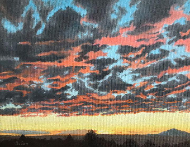 Albuquerque West Mesa Sunset - Brian Hoden