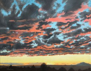 Albuquerque West Mesa Sunset - Brian Hoden