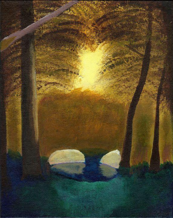 Forest pond - Greg Raynard