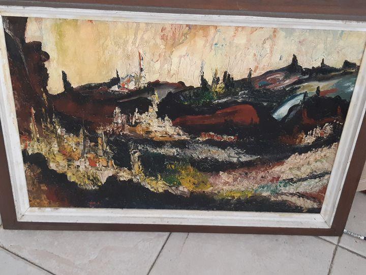 landscape of Jerusalem - RosArt