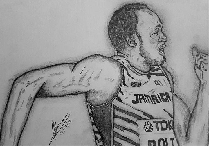 Bolt 200m - Collin A. Clarke